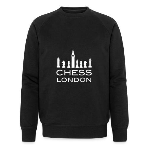 Schach London Weltmeister Schachfigur Geschenk - Männer Bio-Sweatshirt