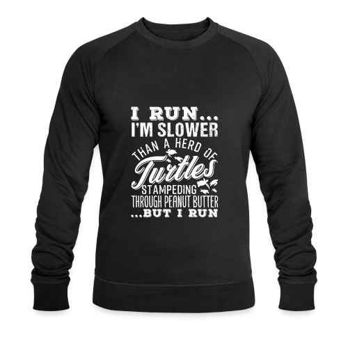 Run Turtles As Fast As We Can - Männer Bio-Sweatshirt von Stanley & Stella