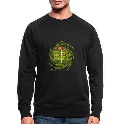 Psychedelic Mushroom design - Mannen bio sweatshirt