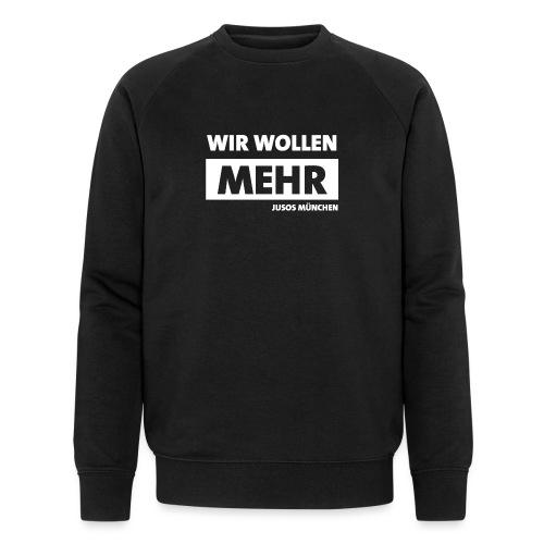 wirwollenmehr - Männer Bio-Sweatshirt