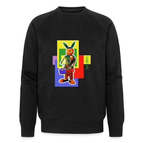 smARTkids - Slammin' Rabbit - Men's Organic Sweatshirt by Stanley & Stella