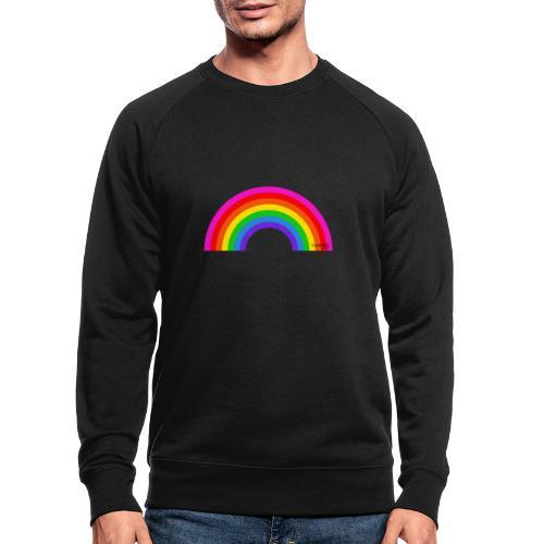 Rainbow - Miesten luomucollegepaita