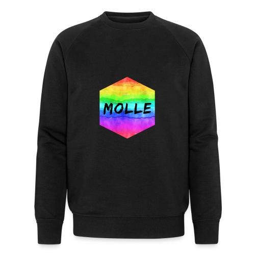molle rainbow - Miesten luomucollegepaita