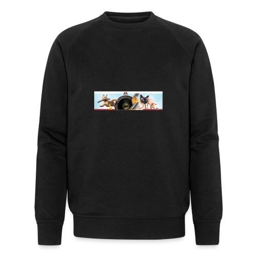Animaux logo - Mannen bio sweatshirt