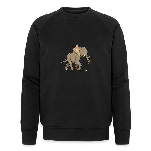 African Elephant (black edition) - Männer Bio-Sweatshirt von Stanley & Stella