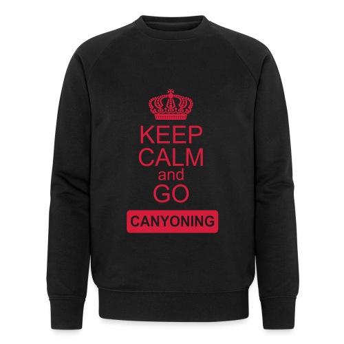 keep calm and go canyoning 2 - Männer Bio-Sweatshirt von Stanley & Stella