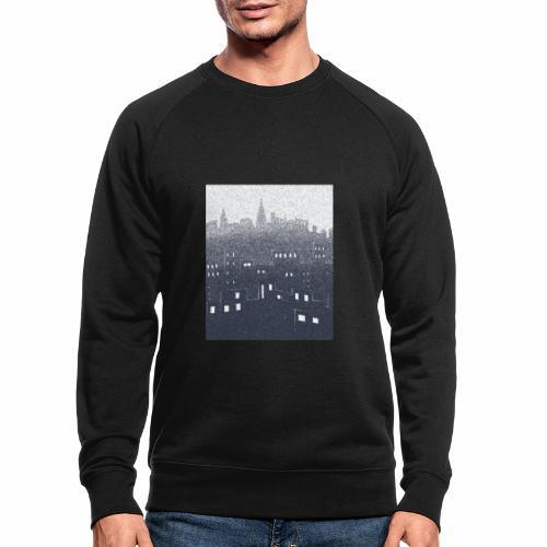 citysnow rectangle - Sweat-shirt bio