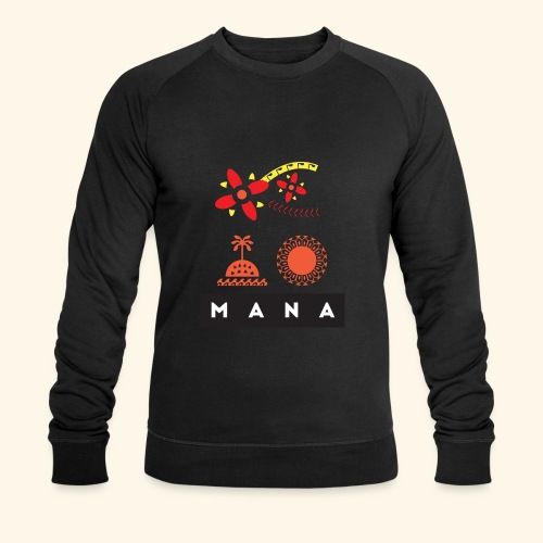 Mana Surf Sun Sea Flowers and Love by Te-Moana - Männer Bio-Sweatshirt von Stanley & Stella