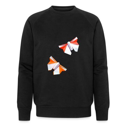Butterflies Origami - Butterflies - Mariposas - Men's Organic Sweatshirt