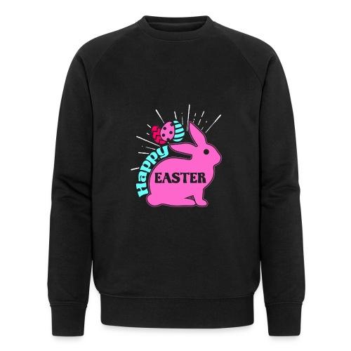 Happy Easter - Frohe Ostern - Männer Bio-Sweatshirt von Stanley & Stella