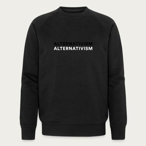 Alternativism - Økologisk sweatshirt til herrer