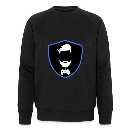 Kalzifertv-logo - Økologisk sweatshirt til herrer