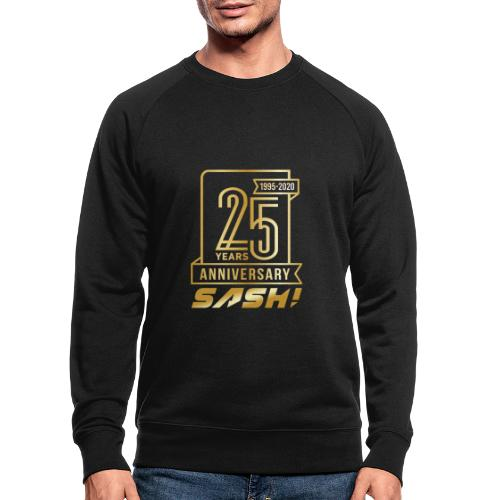 SASH! 25 Years Annyversary - Men's Organic Sweatshirt