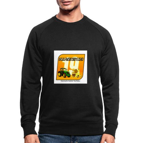 hjarne 123 danmarks bedeste youtuber - Økologisk sweatshirt til herrer