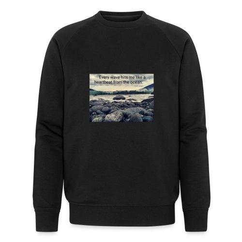 Oceanheart - Økologisk sweatshirt for menn fra Stanley & Stella