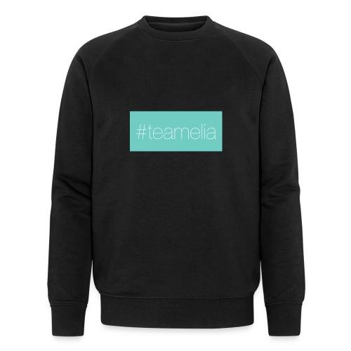 #teamelia - Männer Bio-Sweatshirt