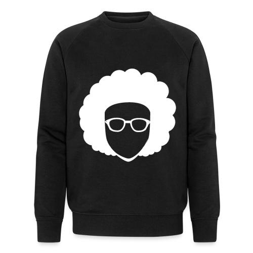 Afro Nerd - nerdy - Men's Organic Sweatshirt by Stanley & Stella