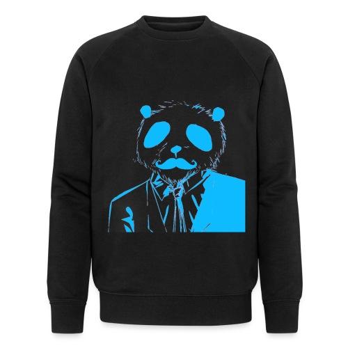 BluePanda Logo - Men's Organic Sweatshirt by Stanley & Stella