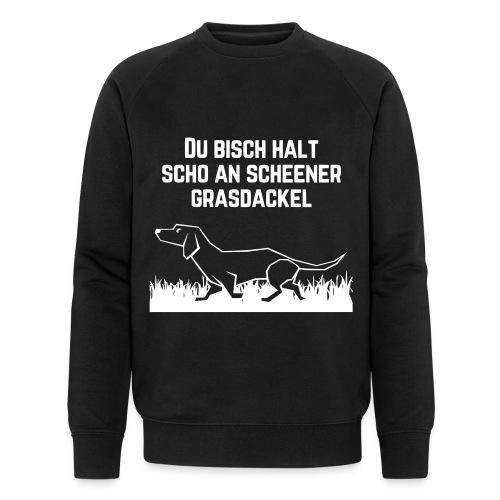 Grasdackel - Männer Bio-Sweatshirt von Stanley & Stella