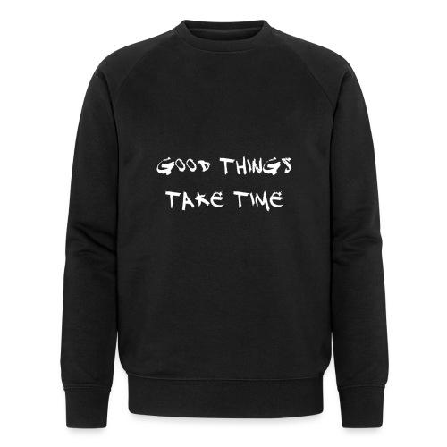 QUOTES - Men's Organic Sweatshirt