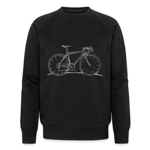 Rennrad Skizze - Männer Bio-Sweatshirt von Stanley & Stella