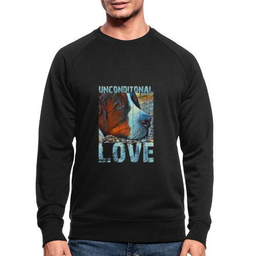 Bernese mountain dog - Mannen bio sweatshirt
