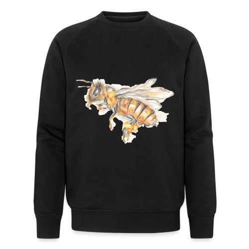 MG002 Bee | Honey | Save the Bees | Books bee - Men's Organic Sweatshirt by Stanley & Stella