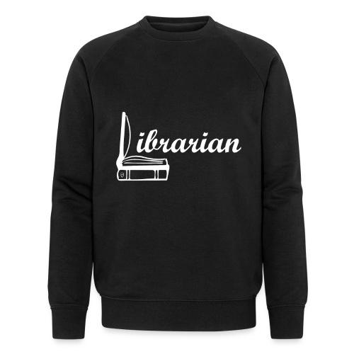 0325 Librarian Librarian Cool design - Men's Organic Sweatshirt by Stanley & Stella