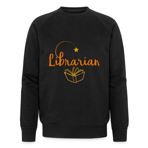 0327 Librarian Librarian Library Book - Men's Organic Sweatshirt by Stanley & Stella