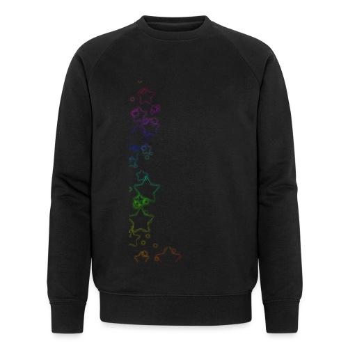 Rainbow Stars - Men's Organic Sweatshirt