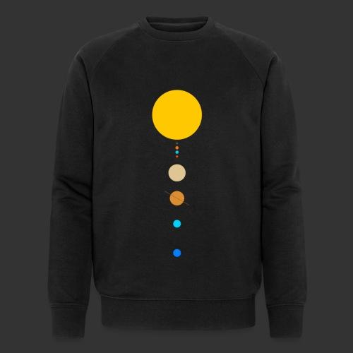 Solar System - Men's Organic Sweatshirt by Stanley & Stella