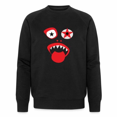 Clown Gesicht - Männer Bio-Sweatshirt von Stanley & Stella