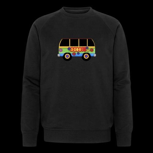 GROOVY BUS - Men's Organic Sweatshirt by Stanley & Stella