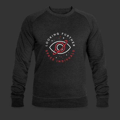 Space Individuals - Looking Farther Black - Men's Organic Sweatshirt by Stanley & Stella