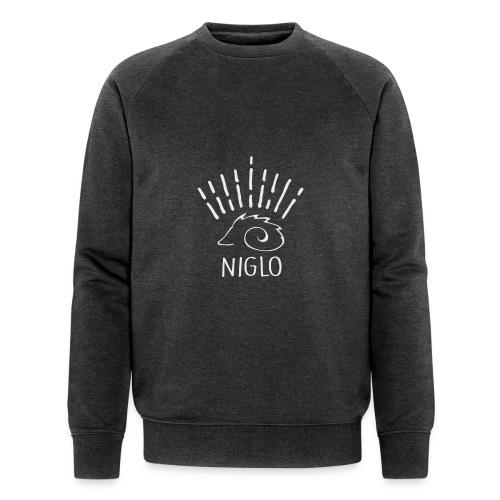 niglo king gris hérisson - Sweat-shirt bio Stanley & Stella Homme