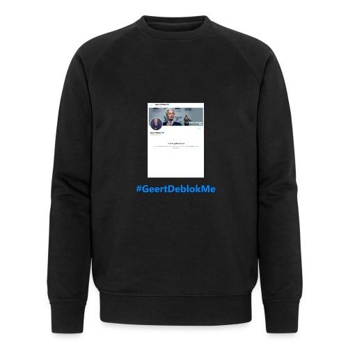 #GeertDeblokMe - Mannen bio sweatshirt van Stanley & Stella