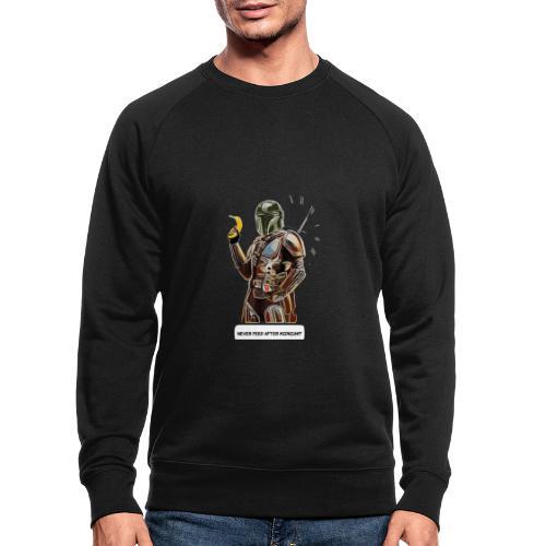 Never Feed After Midnight - Men's Organic Sweatshirt