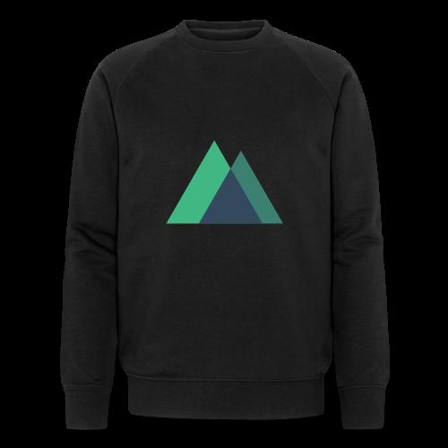 Mountain Logo - Men's Organic Sweatshirt by Stanley & Stella