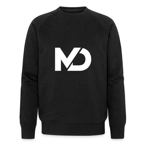 logo_wit - Mannen bio sweatshirt van Stanley & Stella