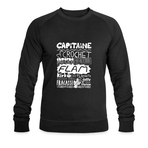 capitaine-blanc Tee shirts - Sweat-shirt bio Stanley & Stella Homme