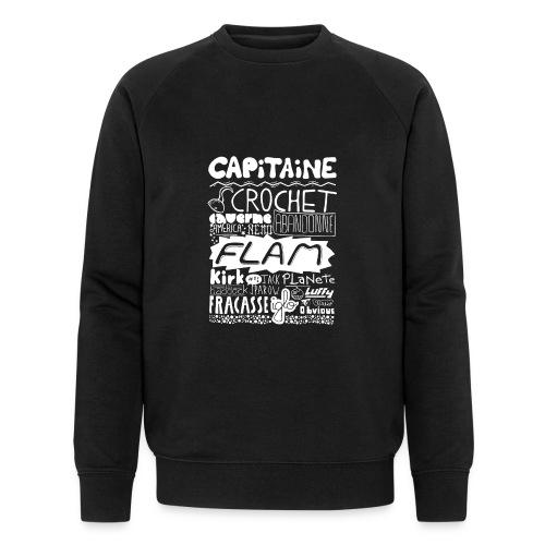 capitaine-blanc Tee shirts - Sweat-shirt bio