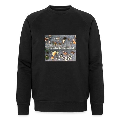 Diversity is beautiful - Økologisk sweatshirt til herrer