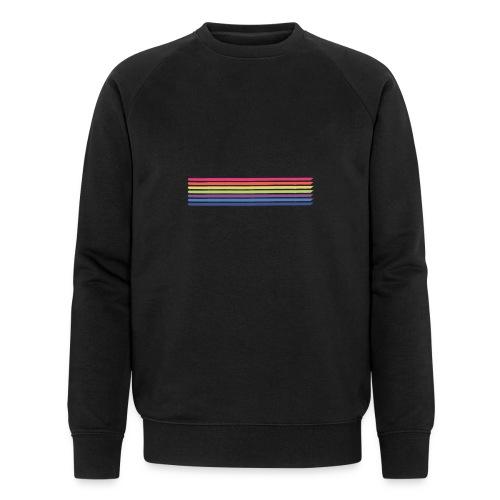 Colored lines - Men's Organic Sweatshirt