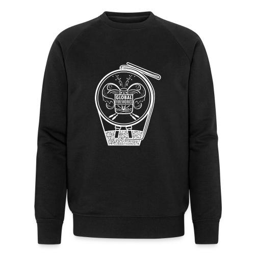 Global Feuerwerk Pyro Shell - Männer Bio-Sweatshirt