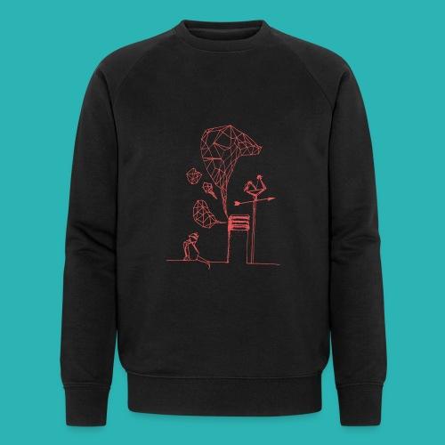 Carta_gatta_pink-png - Felpa ecologica da uomo di Stanley & Stella