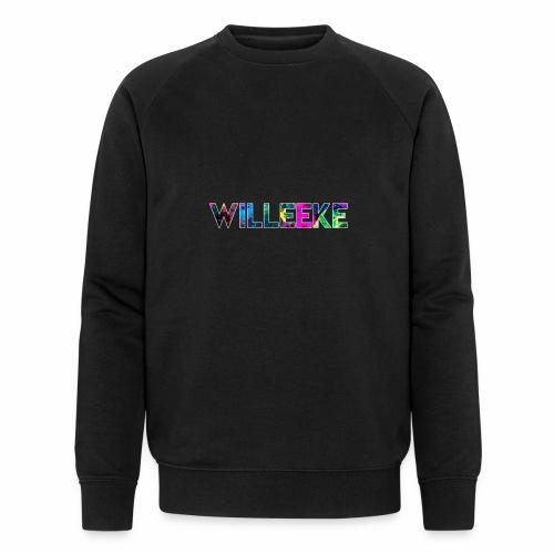 willeeke graffiti whitbar - Ekologisk sweatshirt herr