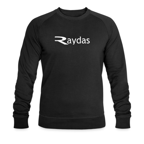 raydas vintage logo - Männer Bio-Sweatshirt