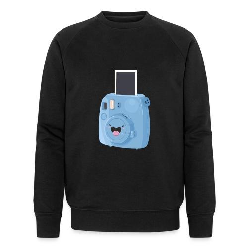 Appareil photo instantané bleu - Sweat-shirt bio Stanley & Stella Homme