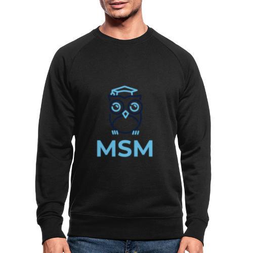 MSM UGLE - Økologisk sweatshirt til herrer
