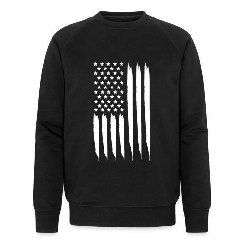 EEUU flag - Sudadera ecológica hombre de Stanley & Stella